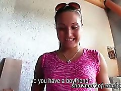 Eurobabe fucked with stranger for money
