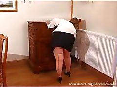 Aikuinen Englanti Amateur BBW Granny