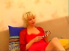 blondi äiti ja poika