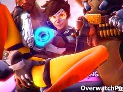 Overwatch Merkkikaasuvirta XXX videokooste
