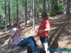 Amateur MILF lactancia privado vídeos embarazada