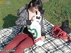 Домашние Video жаркого большом сиськи для грудных Part6