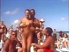 Voorjaarsvakantie op een strand
