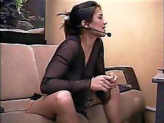 Brasileira se masturbando para um clímax bom