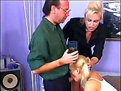 Kaksi kaunottaret Fucking Hot Cock