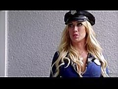 Capri Cavanni Police Officer At Duty