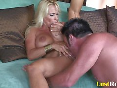 Only cum can tame the wild Holly Halston