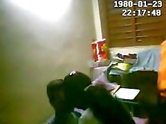 Ik opgezet hidden cam op het huis van vriend