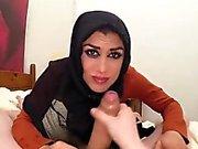 Horny arab slut craves for a huge hard cock