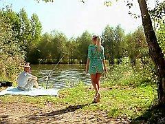 Weibchen Simons Fischerei und Ficken