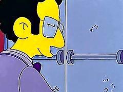 Simpson la pornografía que Marge y Artie fiesta post