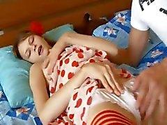 Oerhört skickliga fingrarna och sexig byxa