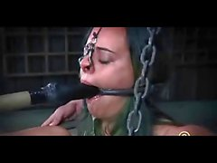 BDSM Slaves 314 and 412 Extreme Chained & Tortured to Tears