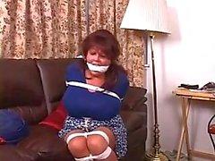 patrão cadela amarrado amordaçado