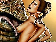 Star Wars orgier