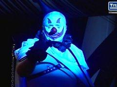 """Cervo Angel In """" del Cirque Noir"""" di porno Halloween !"""