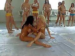 Olja Lesbisk Party 4