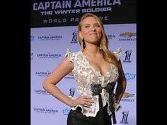 Scarlett Johansson Jerk Off Challenge To The Beat (métronome)