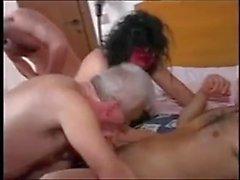 Divertido Amateur - dotados Älteres rubias Paar - Drei Szenen