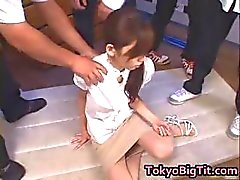 Asian MiLF Rina Tomoa Gets Sprayed