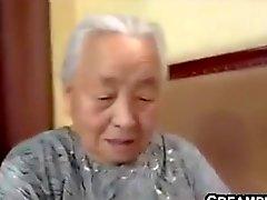 Abuela Japón Follar