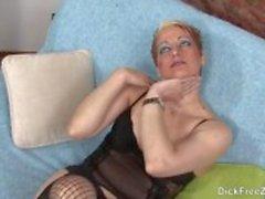 Rubia Latina Masturbação P