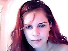 Привлекательные рыжеволосый грудастая девочка получают и рисунок трахают Wi