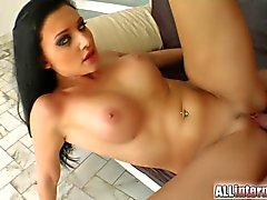 Aletta Ocean´s pussy hosts two large cum loads