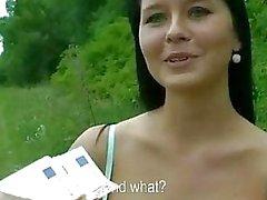 Stora tuttar amatör tjeckiska flicka betalat för sex