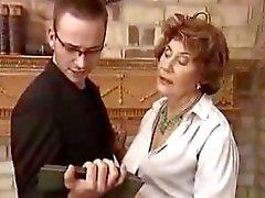 Alemão baronesa seduzir seu assistente