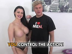 Aletta Ocean Fucks and Sucks Big Black Cock in POV