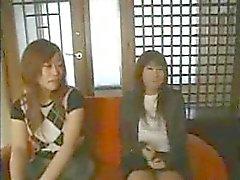 porra japonês no escritório - 4 cenas uncen -