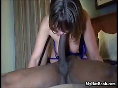 Swinger housemom with ebony penis friend