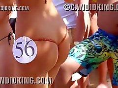 Sexy Latina med bäst butt någonsin vid a bikini tävling !