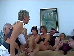 Tyska Mogna Swingers Knulla Party