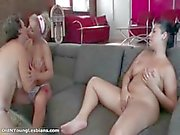 Nasty mature sluts go crazy licking part3