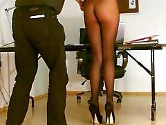 Sekretär Trumpfhose freiliegenden .
