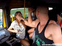 Slutlig Hardcore orgie i Tjeckien BANG buss