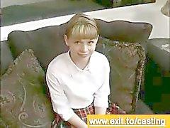 Gjutning porr Interview Cutie Violet