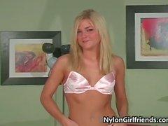 Super sexy blond Mckenzee Miles