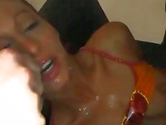 Slim Chick Fucked In Pussy And A...