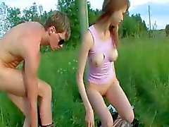 Brutala flickor anal utomhus kön