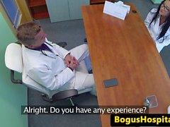 EU medicinare jizzed om av äkta doktorn
