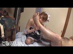 Nette Japan Porn Mädchen mit Amateur Hässliche Guy