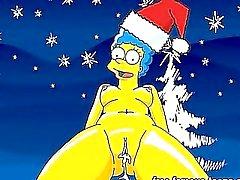 Estrellas Escribió ecchi en orgía de Navidad