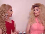 A man to a girl and a man forced to be a sissy