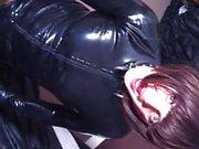 Mistress fucks her Tranny Sissy