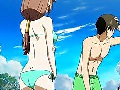 Hentai babe bikinin knullar