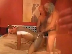 Fledgling Cuck Bisexual 3some