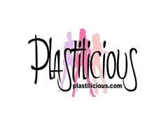 Plastilicious Modello Sandy di abbigliamento pvc transparent